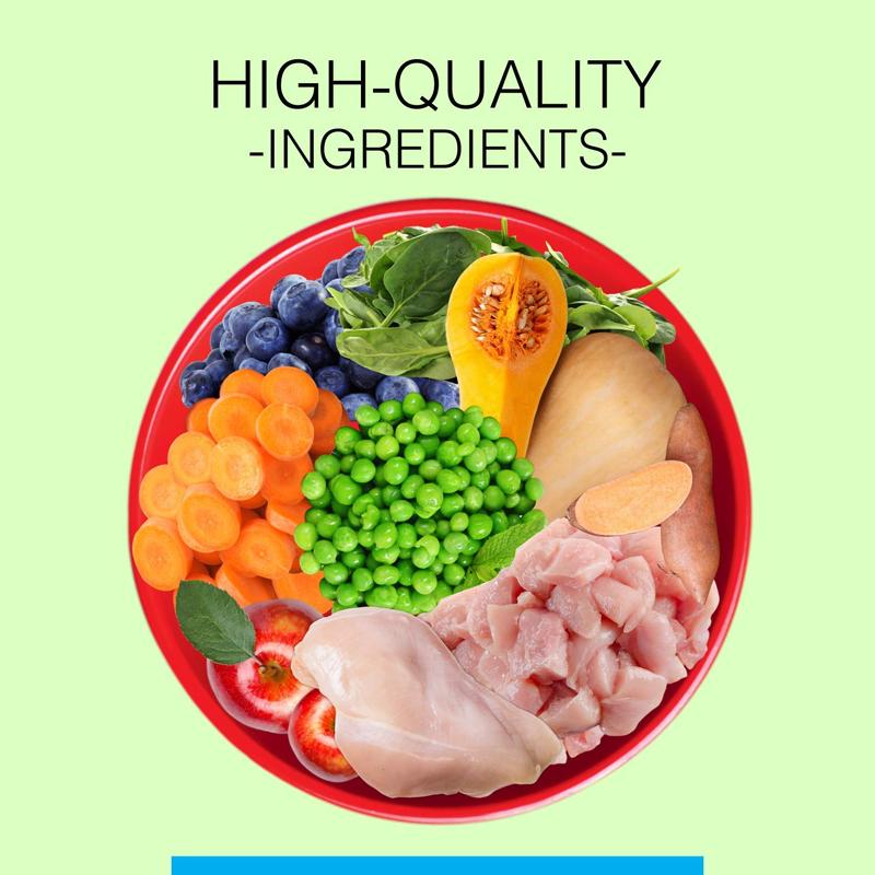 عکس مواد تشکیل دهنده غذای خشک سگ کنین کریک مدل Adult وزن 4 کیلوگرم