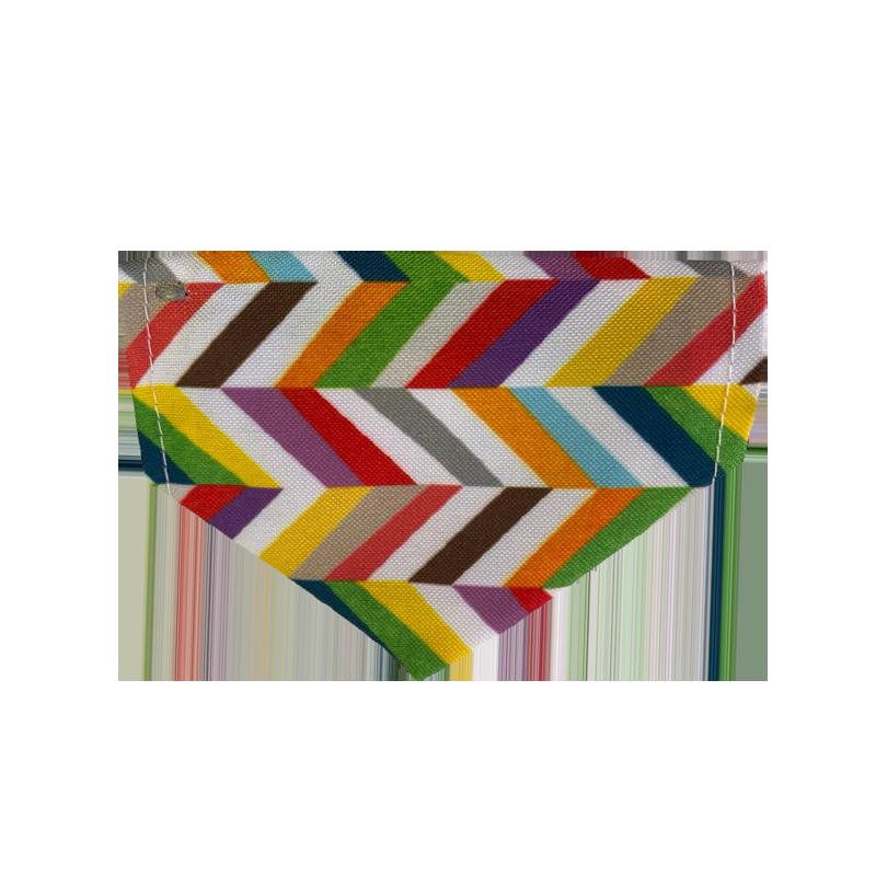 قلاده و دستمال گردن گربه نیناپت مدل طرح دار رنگی