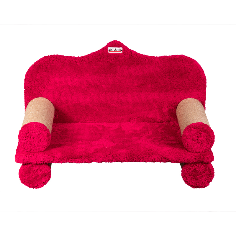 عکس اسکرچر و جای خواب کدیپک مدل کاناپه رنگ قرمز