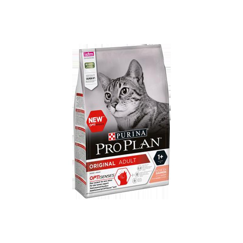 غذای خشک گربه با طعم سالمون پروپلن ProPlan Adult Salmon وزن 1.5 کیلوگرم