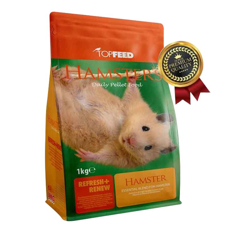 عکس بسته بندی غذای خشک همستر تاپ فید مدل Hamster Daily PelletFood وزن 1 کیلوگرم