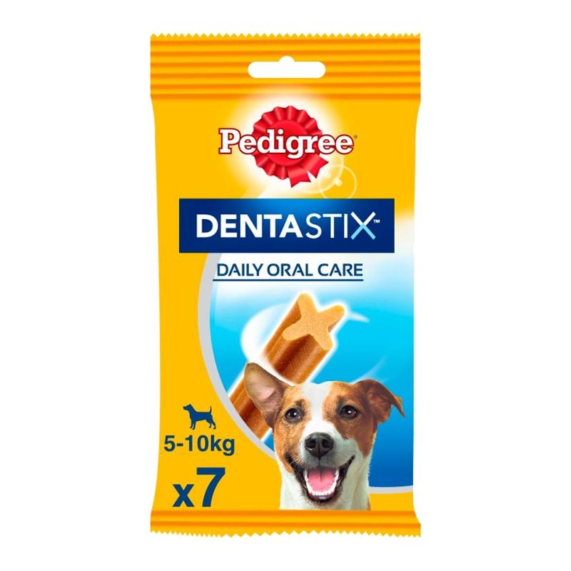 عکس بسته بندی محصول تشویقی سگ پدیگری مدل Dentastix Daily Care بسته 7 عددی