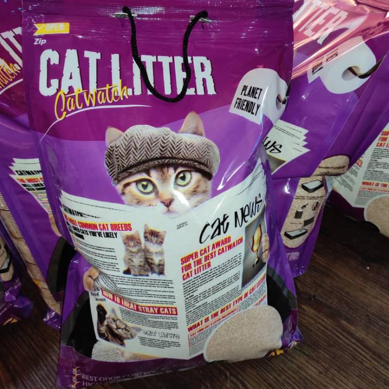 عکس بسته بندی دوم خاک گربه کت واچ