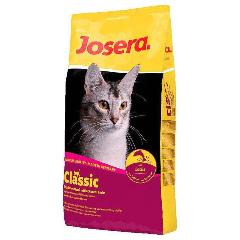عکس بسته بندی غذای خشک گربه جوسرا مدل Classic وزن 1 کیلوگرم