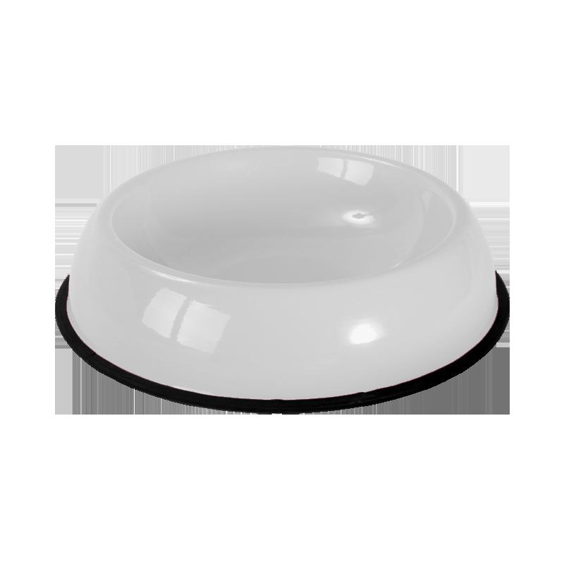 ظرف غذای حیوانات هپی پت مدل رها سایز کوچک سفید