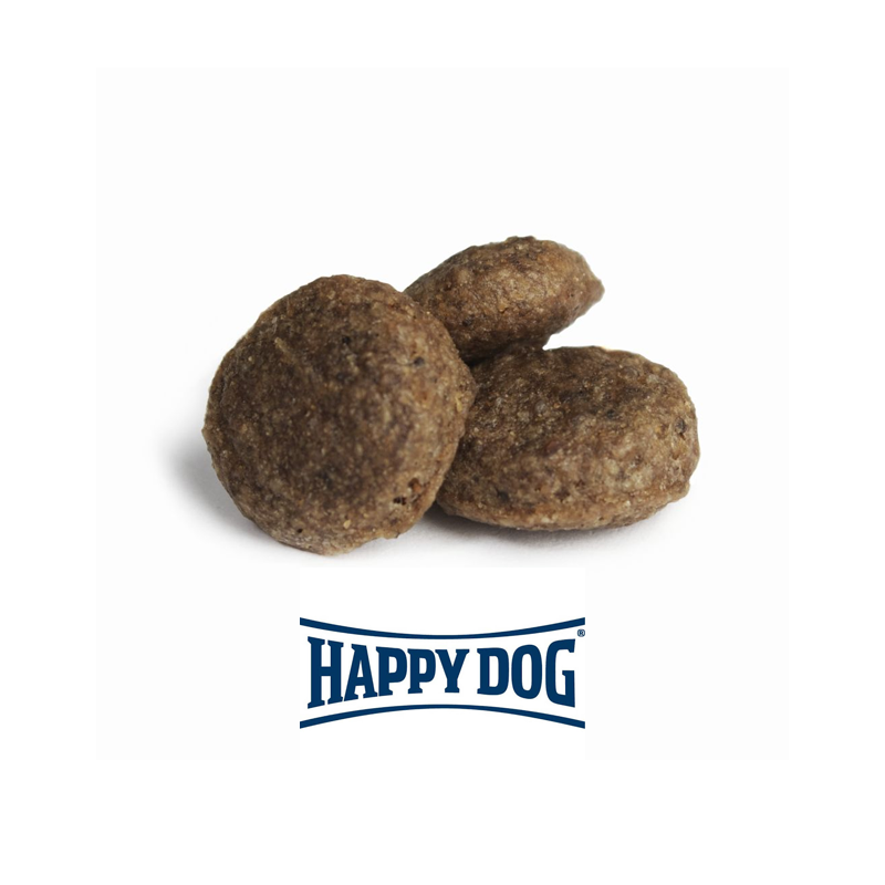 عکس دانه غذای خشک سوپر پرمیوم سگ هپی داگ مدل Mini Irland وزن 8 کیلوگرم