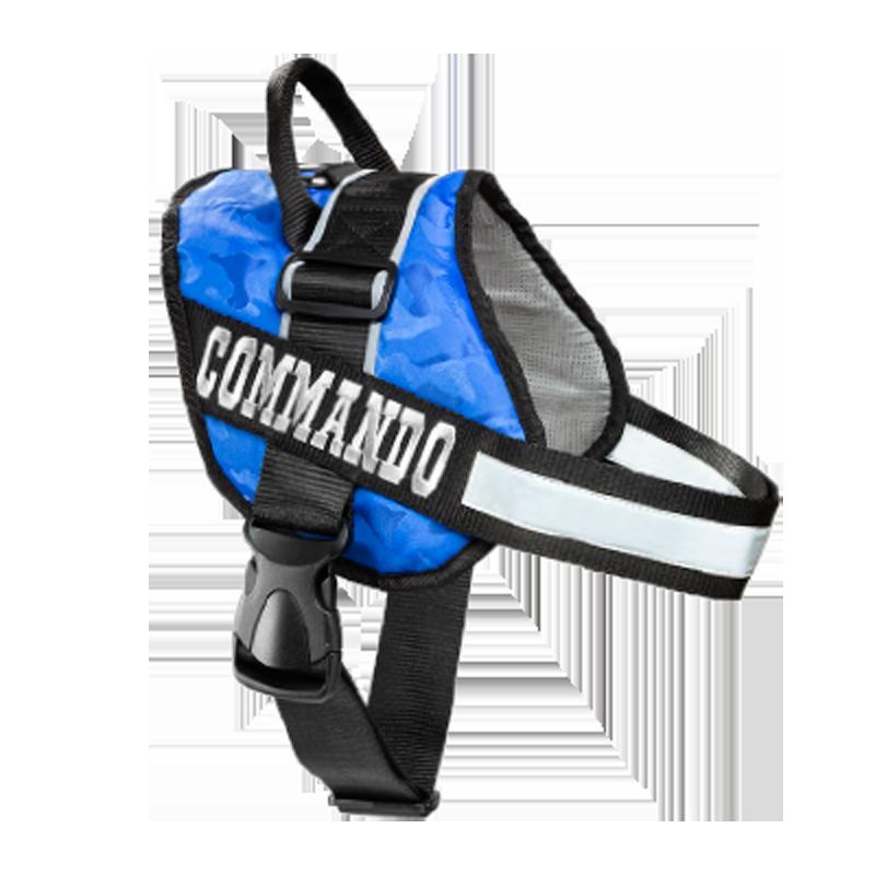 عکس محصول قلاده کتفی سگ نیناپت مدل کماندو بدون لید سایز ۱