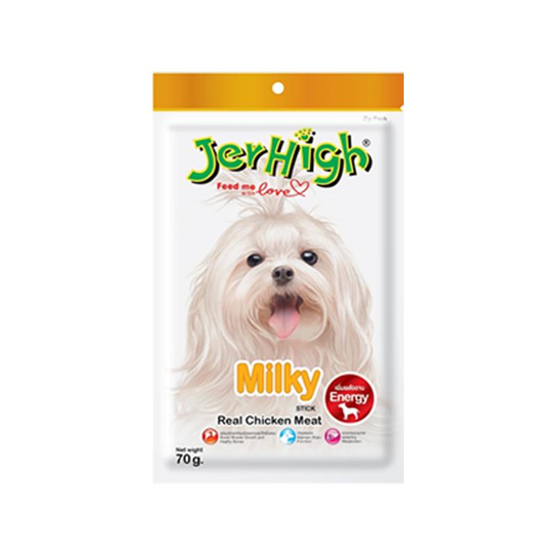 تشویقی سگ جرهای با طعم شیری