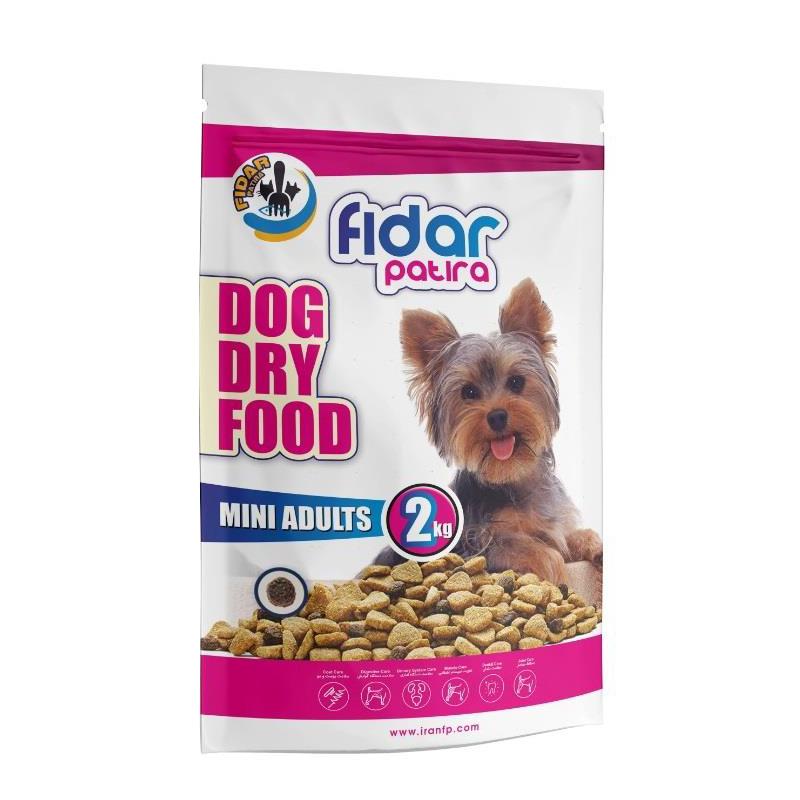 عکس بسته بندی غذای خشک سگ فیدار مدل Mini Adult وزن 2 کیلوگرم