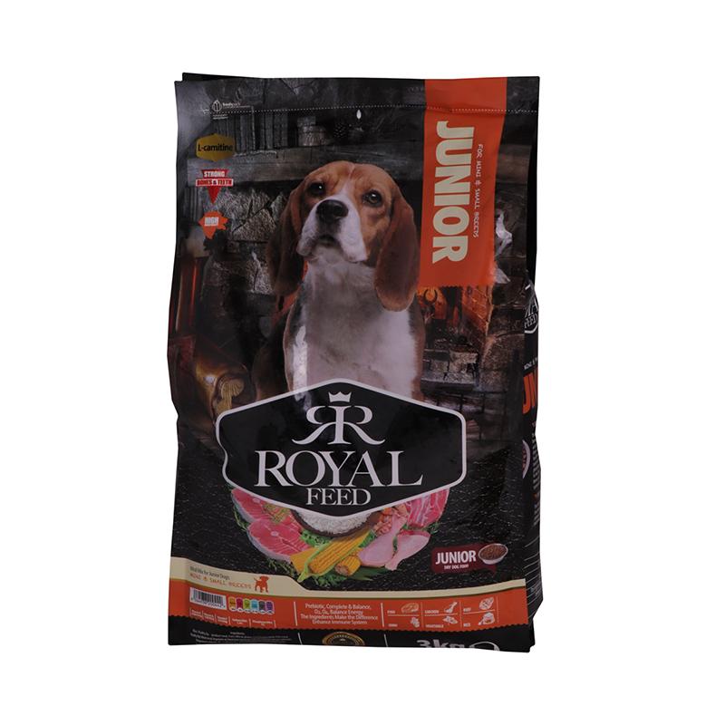 عکس بسته بندی غذای خشک سگ رویال فید مدل Mini & Small Juniors وزن 3 کیلوگرم