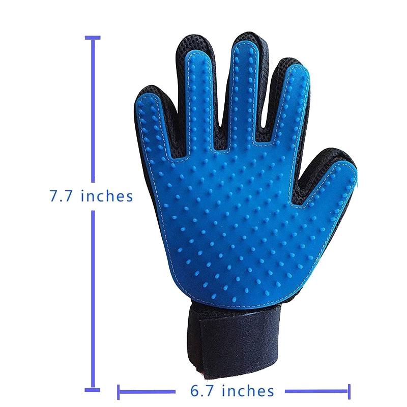 عکس ابعاد دستکش ماساژ حیوانات سویل پت مدل Prime