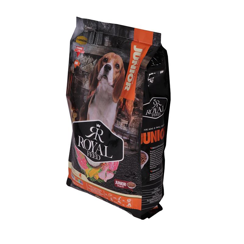 عکس جزییات بسته بندی غذای خشک سگ رویال فید مدل Mini & Small Juniors وزن 3 کیلوگرم