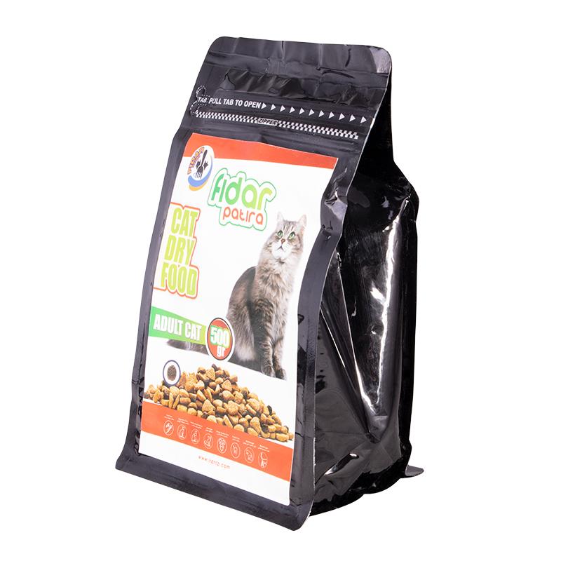 عکس جزییات بسته بندی غذای خشک گربه فیدار مدل Adult وزن 500 گرم