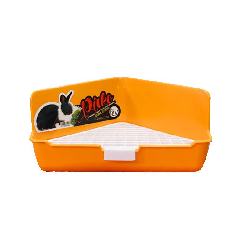 ظرف دستشویی خرگوش هپی پت مدل Picko نارنجی