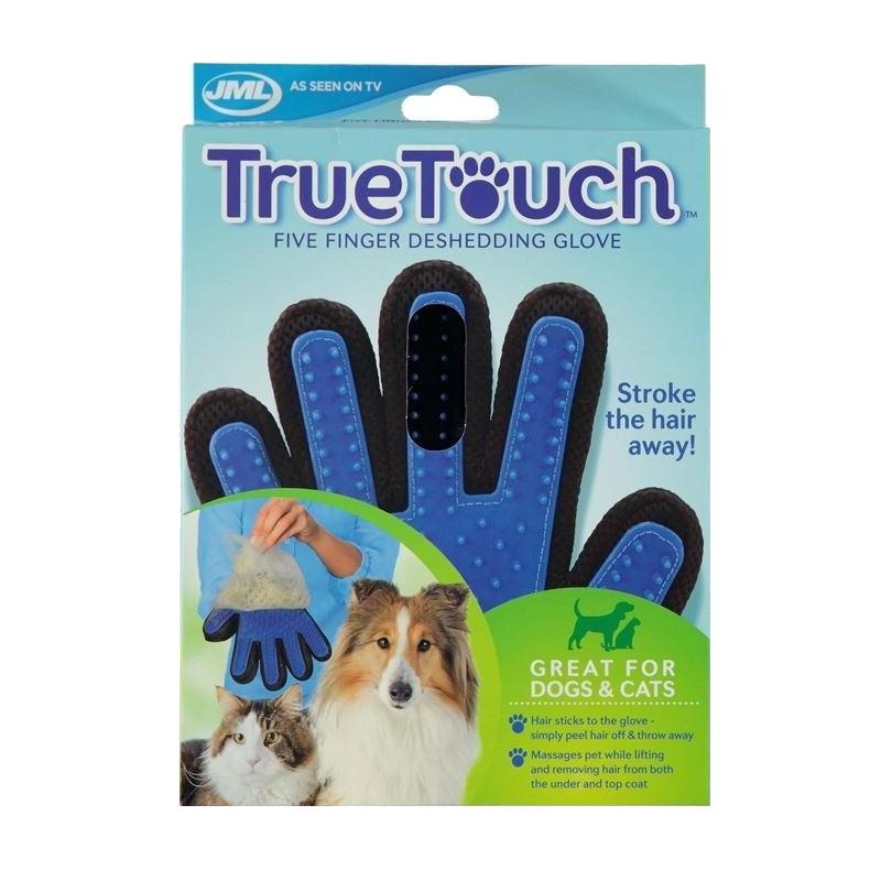 عکس بسته بندی دستکش ماساژ حیوانات تروتاچ مدل Desheding Glove