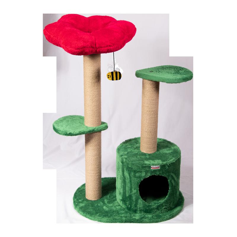 عکس اسکرچر ، لانه و جای خواب کدیپک مدل میخک رنگ قرمز