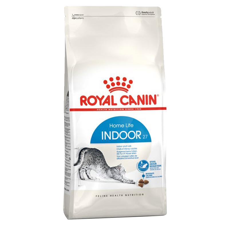 عکس بسته بندی غذای خشک گربه رویال کنین مدل Indoor Home Life وزن 10 کیلوگرم