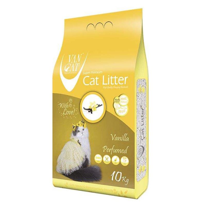 عکس بسته بندی خاک گربه ون کت مدل Vanilla وزن 10 کیلوگرم