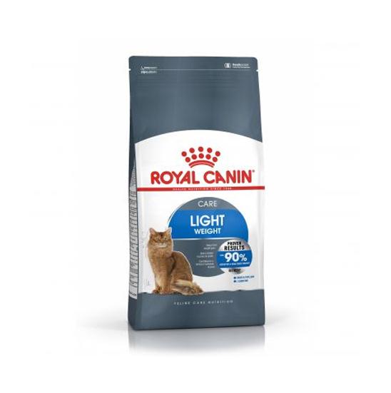 عکس بسته بندی غذای خشک گربه رویال کنین مدل Light Weight Care وزن 1.5 کیلوگرم