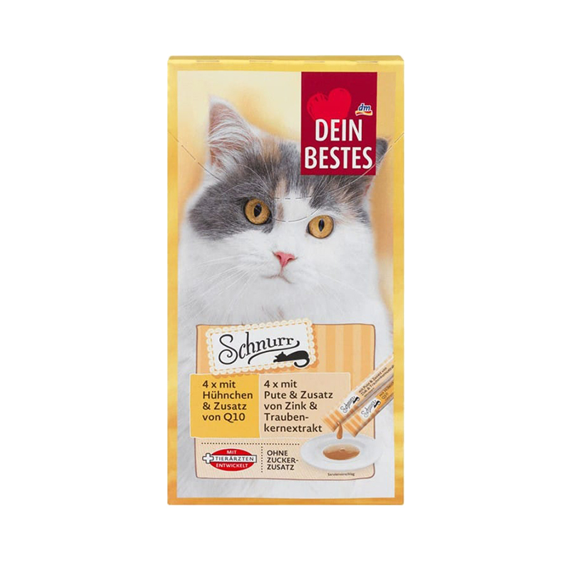عکس بسته بندی بستنی گربه دین بستس مدل Purr بسته 8 عددی