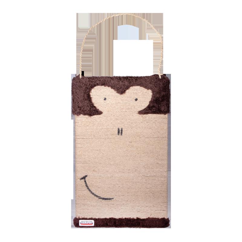 عکس اسکرچر تخته ای کدیپک مدل میمون رنگ قهوه ای