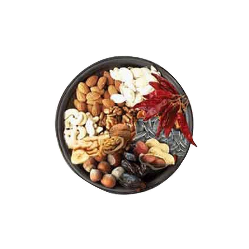 عکس محتویات خوراک آجیلی طوطی سانان تاپ فید مدل Parrots Complete Food وزن 750 گرم