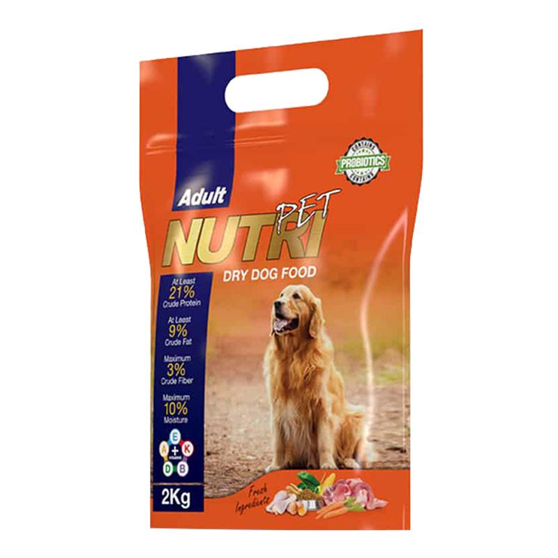 عکس بسته بندی تبلیغاتی غذای خشک سگ نوتری مدل Adult 21 وزن 2 کیلوگرم