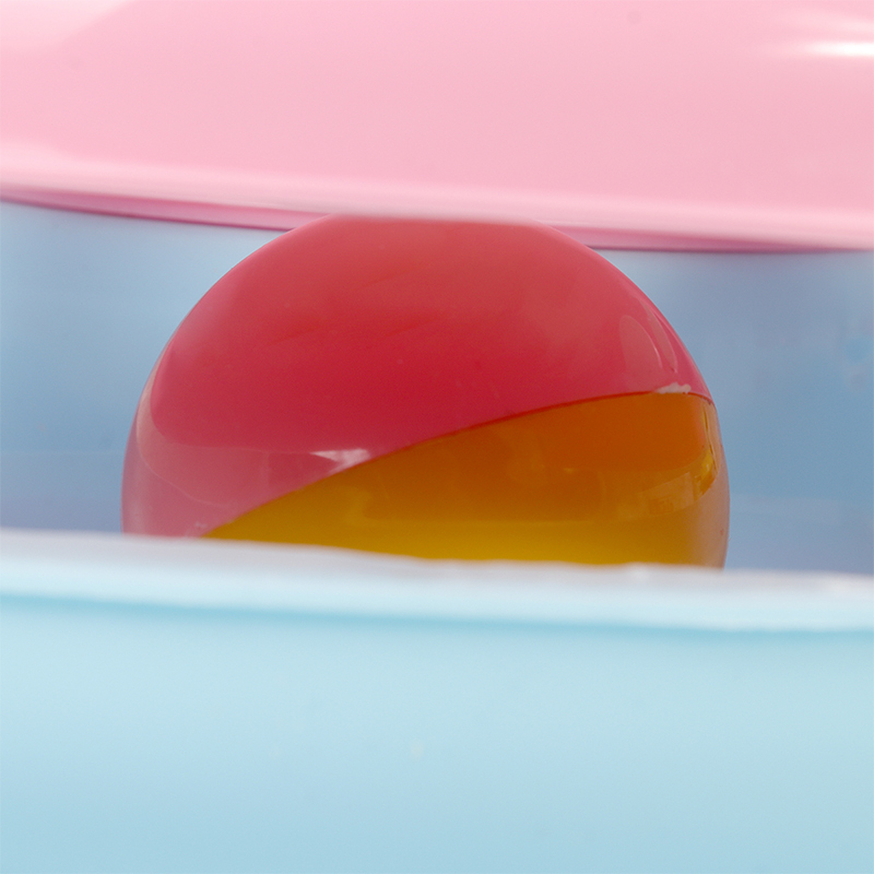 عکس از نزدیک توپ اسباب بازی گربه هپی پت مدل مشا