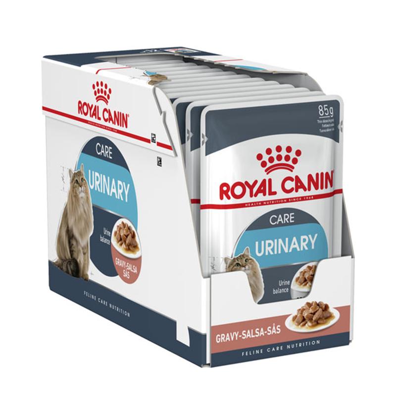 عکس دوم بسته بندی غذای تر بسته غذای خشک و تر گربه رویال کنین مدل Urinary Care