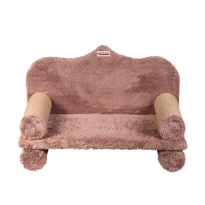 عکس اسکرچر و جای خواب کدیپک مدل کاناپه رنگ کرم