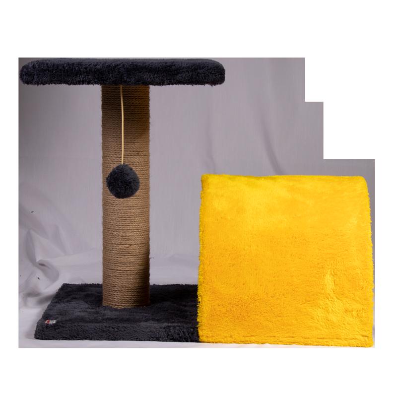 عکس از رو به رو اسکرچر و جای خواب کدیپک مدل سنجد سرمه ای زرد
